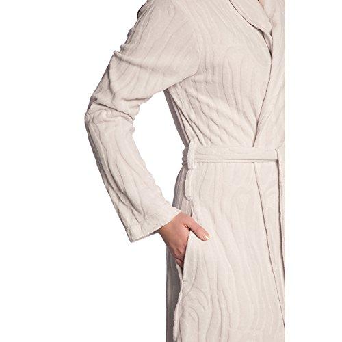Vossen - Albornoz - para mujer blanco marfil