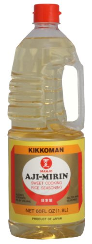 Kikkoman Manjo Aji Mirin Cooking Rice Seasoning, 60-Ounce - Mirin Cooking Wine