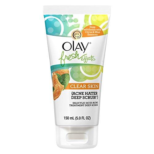 Olay Fresh Effects Clear Skin Acne Hater Deep Scrub Salicyli