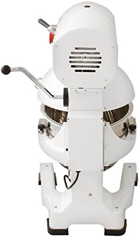 KuKoo Robot Batidora 550W Amasadora Repostería Profesional Robot de Cocina Automática Multifuncional Planetaria Industrial 20 Litros Raspador de acero GRATUITO: Amazon.es: Electrónica