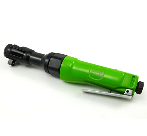 Dynamic Power 3/8 inch Professional Air Ratchet Reversible (Green&Black)
