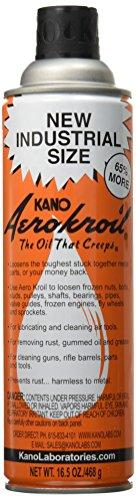(Kano Aerokroil Penetrating Oil, Industrial Size, 16.5 oz. aerosol (AEROKROILIND))