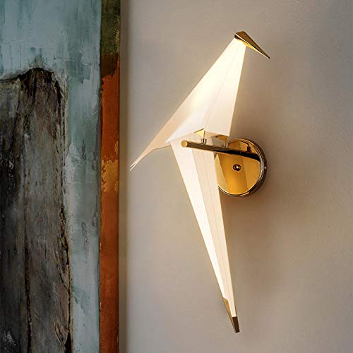 (NIUYAO Vivid Bird Wall Lamp, Retro Antique Wall Mount Fixture Stylish Bird Wall Sconces Wall Lighting Modern Plastic Small Wall Light (1 Light) 495725)