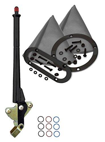 American Shifter 419911 AOD Shifter 16 E Brake Trim Kit for DAC61