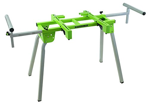 KASTFORCE KF3001 Compact Miter Saw Stand Fits All Miter Saws from 8 to 12 Slide Compound and Light Weight Woodworking Machine Bench Grinders Drill Press Tile Cutter Floor Cutter