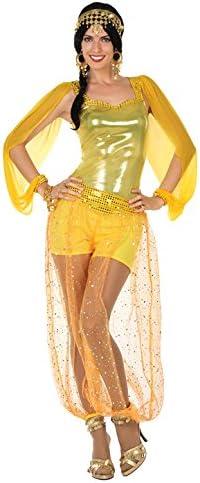 Atosa- Disfraz mujer árabe, Color dorado, XS-S (15835): Amazon.es ...
