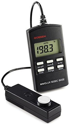 Gossen M502B Mavolux 5032C Digital Footcandle and Lux Meter - Incidence Meter