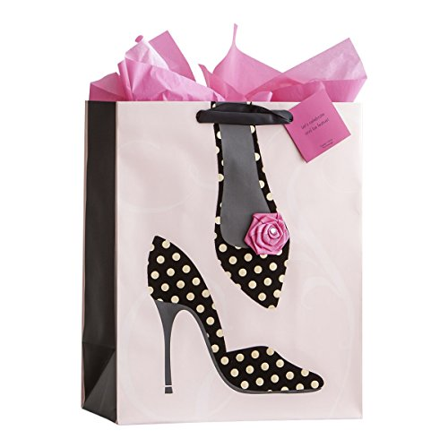 Large Specialty Gift Bag - Birthday - Polka Dot Shoes