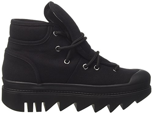 Jeffrey Campbell Damen Jcp35jc163can Hohe Sneaker Nero (Black Canvas)