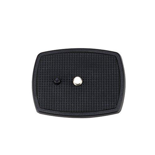 ZOMEi Camera Video Tripod Quick Release Mounting Plate for Zomei Q111,Z666 1 Pc Black