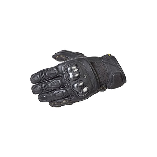 ScorpionExo SGS MKII Men's Short Cuff Sport Gloves (Black, Large)
