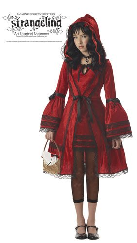 Tween Little Red Riding Hood Costume (California Costumes Girls Tween Red Riding Hood Costume, Large)