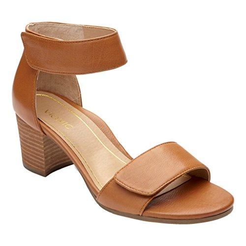 Vionic Women's Solana Arch Support Dress Sandal Saddle 8....