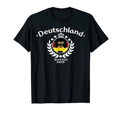 Deutschland Germany Soccer Team Football Russia fan T-shirt