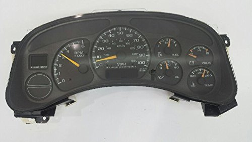 SPEEDOMETER CLUSTER MPH All Works Fits 01 02 Chevy Tahoe Suburban 1500 5.3L Automatic