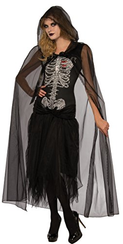 Lady Death Costume (Rubie's Costume Co. Women's Lovely Death Costume, As Shown, Standard)