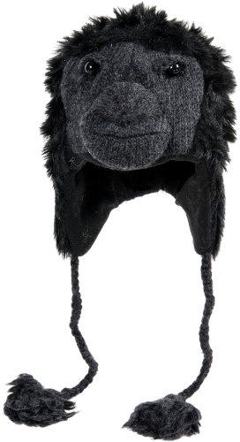 Nirvanna Designs CHGORILL Gorilla Hat with Fleece , Black, 5