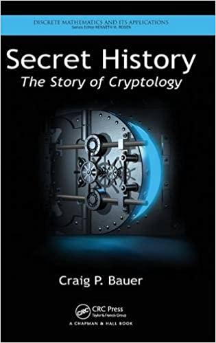 Secret History The Story Of Cryptology Discrete Mathematics And Its Applications 1st Edition