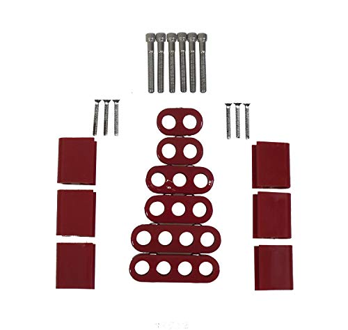 (Taylor 42522 Red Vertical Wire Loom Kit)