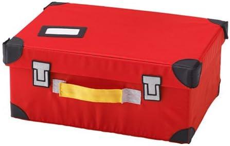 Amazing FLYTTBAR Baúl de juguete rojo 13 3/4 x 9 3 3/4 pulgadas: Amazon.es: Hogar