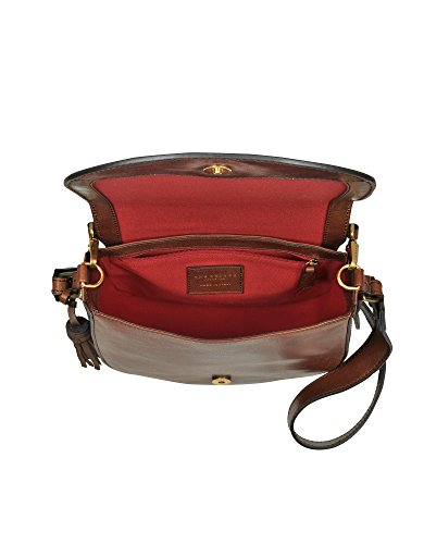 The Bridge Borsa A Spalla Donna 0412270114 Pelle Marrone