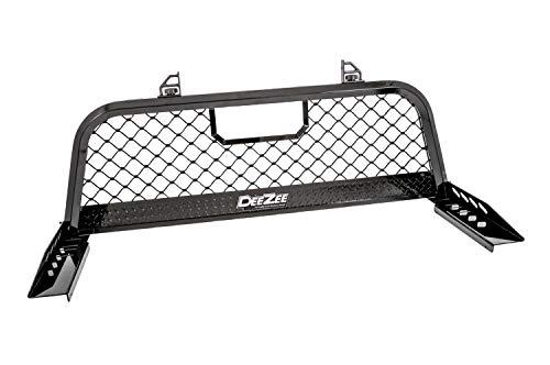 Dee Zee DZ95050RB Gloss Black Aluminum Mesh Cab Rack