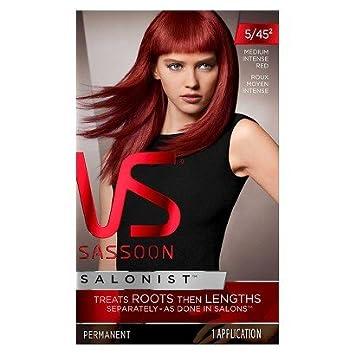 Amazon.com : Vidal Sassoon Salonist Hair Color-This 2-step coloring ...