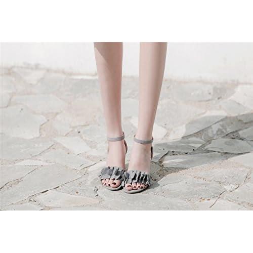Envio gratis Mujeres Verano Sandalias Moda Zapatos De Plataforma Zapatillas  Linda Cordón Tobillo Del Dedo Del 0de45609f350