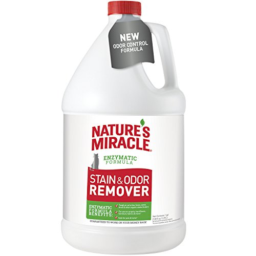 (Nature's Miracle Cat Stain and Odor Remover Pour, 128 fl. oz.)