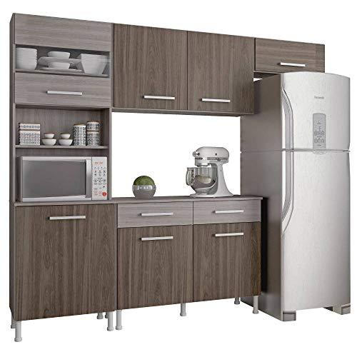 Cozinha Compacta Atualle Brasilia 4300R Cream Malbec SE