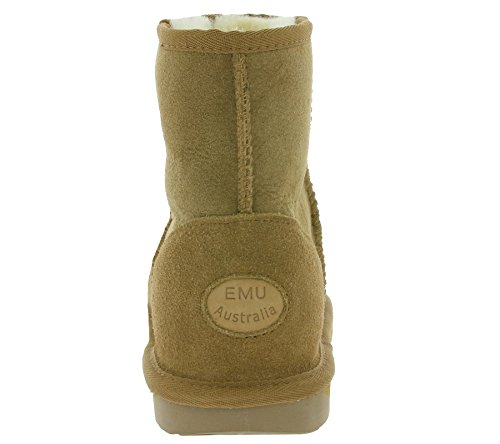 Marron pour Emu EMU Mini Chestnut Bottes Femme Australia Stinger 646wqxp0
