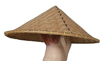 Hand-made in Bali VIETNAMITA Tradicional CÓNICO Coolie Sombrero - CHINOS  Granjero Disfraz ACCESSORIE 1c92948918e