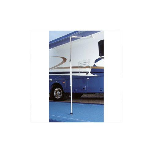 Carefree 902865White Rafter 6 with Automatic Awning and Ground Support