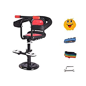 Aszhdfihas-sp Battery Car Child Front Seat Scooter Ladies Motorcycle Baby Baby Child Seat for Toddlers Foldable…