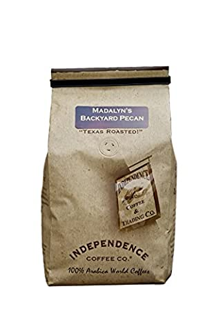 Independence Coffee Co. Madalyn's Backyard Pecan Whole Bean Coffee 24 Oz (Pack of 2) (Backyard Beans)