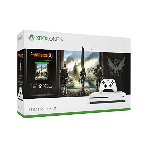 41FMl2iC86L. SS600 - Xbox One S 1TB Console - Tom Clancy's The Division 2 Bundle Xbox One S 1TB Console – Tom Clancy's The Division 2 Bundle 41FMl2iC86L