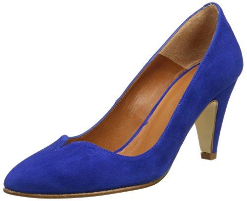 Emma Go 16035 - Zapatos de vestir Mujer Azul - Bleu (Electric Blue)