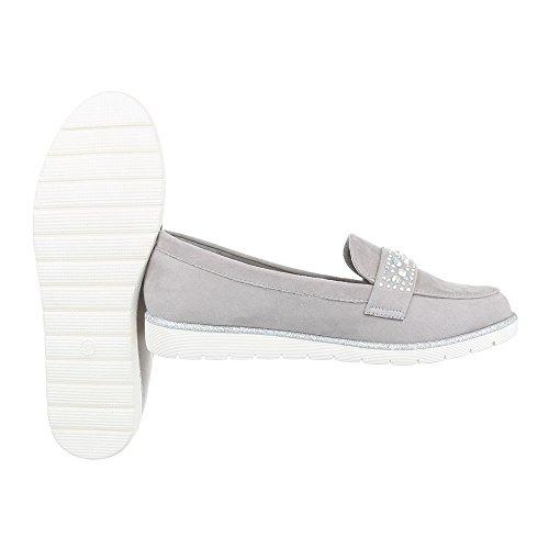 Ital-Design - Tobillo bajo Mujer gris