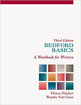 Book Bedford Basics: A Workbook for Writers