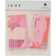 [ikue] Japanese Quality 100% Pure Cotton Baby Belt Cover - ANIMAL CAMO PINK [Japan Import]