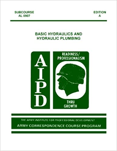 Download engelsk bog til mobil US Army BASIC HYDRAULICS AND PLUMBING SUBCOURSE AL0907 AL 0907 Edition A PDF CHM ePub