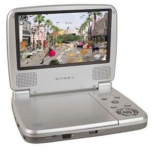 DX-P7DVD 7 Inch Portable DVD Player
