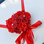 FairOnly-Wedding-Artificial-Flowers-Car-Decoration-DIY-Silk-Flower-Valentines-Day-Fake-Flowers-Sets-Wedding-Wreath-Rose-red