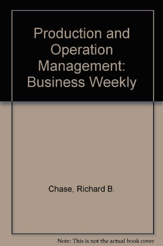 Production and Operation Management: Business Weekly
