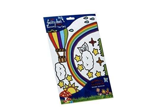 [The Irish Fairy Door Company - Rainbow Decal Pack] (Fairy Costumes Uk)