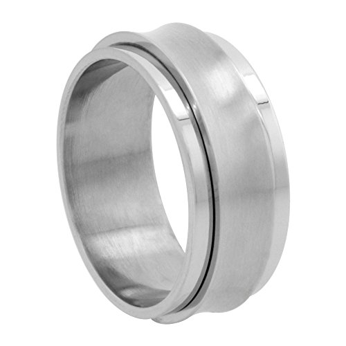 Surgical Stainless Concaved Spinner Wedding