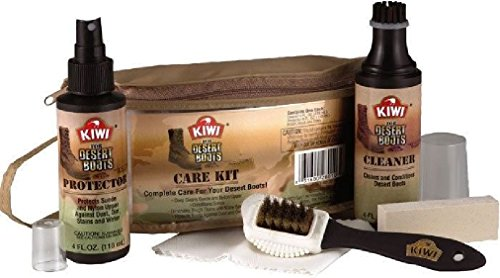 Kiwi Military Desert Boots Complete Cleaning Stain Remover Boot Care Kit – DiZiSports Store