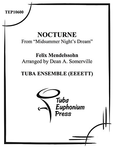 Nocturne (from 'Midsummer Night's Dream) ebook