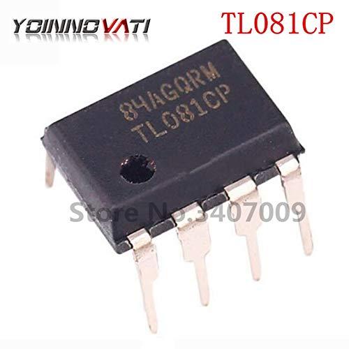 Gimax 10PCS TL081CP DIP8 TL081 Operational amplifier op amp JFET Input New original fast delivery
