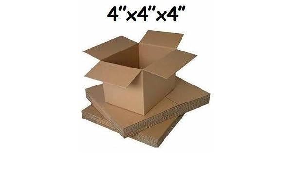 10 Cajas pequeñas de cartón para embalaje de tarjetas, 10,1 x 10,1 x 10,1 cm: Amazon.es: Oficina y papelería